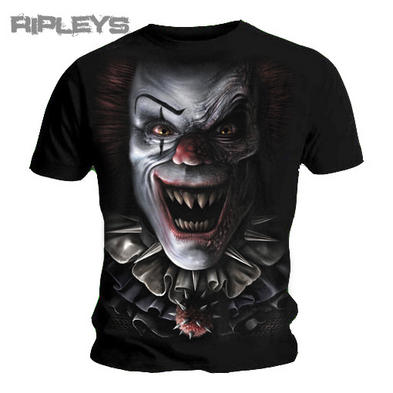 SPIRAL DIRECT Goth T Shirt CIRCUS of Terror Evil Clown All Sizes
